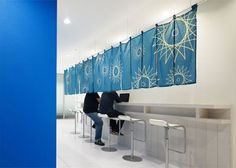 Google's Japan office: I think this is a very smart space design hack!