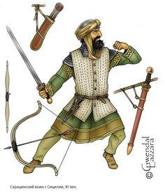 Сарацинский воин с Сицилии