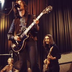Eric Clapton & George Harrison, on your with Delaney & Bonnie.