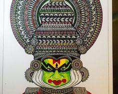 #kathakali #dancer #onam #mandala