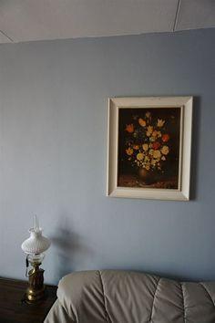 Matná akrylátová farba na stenu vhodná do obývačiek s poobedňajším svetlom /orientované západne/ - odtieň 731 Stencil, Bliss, Painting, Stenciled Table, Painting Art, Paintings, Painted Canvas, Stenciling, Drawings