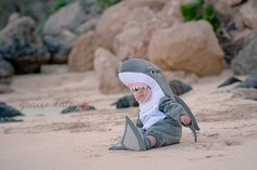 The cutest little Shark in the world! by Gracie Kate Photography, via Flickr