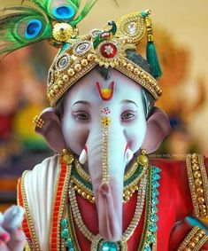 Make this Ganesha Chathurthi 2020 special with rituals and ceremonies. Lord Ganesha is a powerful god that removes Hurdles, grants Wealth, Knowledge & Wisdom. Jai Ganesh, Ganesh Lord, Shree Ganesh, Ganesh Statue, Ganesha Art, Ganesha Sketch, Ganesh Rangoli, Shri Ganesh Images, Ganesha Pictures
