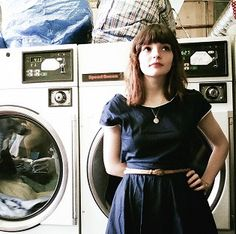 Oh, how I love Lauren Mayberry... her outfits are so cute