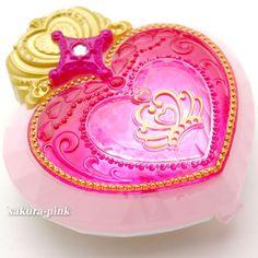 GO Princess Precure Pretty Cure Mini Mirror Compact 2 Authentic Bandai Japan…