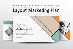 Layout Marketing Plan Strategy PPT by Good Pello on @creativemarket