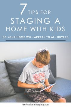 Tips for Staging a Home with Kids - Selling House Tips - Ideas of Selling House Tips - Selling a home with kids can be a challenge especially when buyers often Sell Your House Fast, Selling Your House, Atlanta, Home Staging Tips, Real Estate Tips, Do It Yourself Home, Basement Remodeling, Remodeling Ideas, Easy Projects