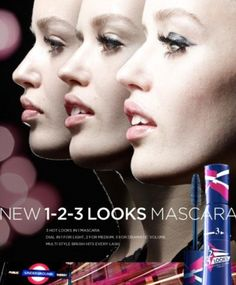 123 looks mascara