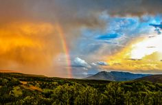 High Country Rainbow by Hugh Mobley on 500px