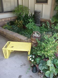 Wonderful Yellow Bed  Table by UmanThings on Etsy, $30.00