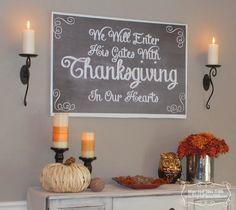 Thanksgiving Buffet display
