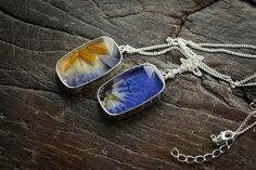 Nature Inspired Resin Jewelry by The Blue Brick ~ The Beading Gem's Journal