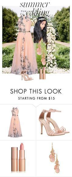 """Summer Wedding"" by cheryl-lobo ❤ liked on Polyvore featuring WithChic, Avon and Boohoo"
