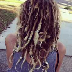 wobbly natural dreads like mine :)