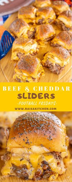 Beef & Cheddar Sliders – perfect for watching football, parties or a quick lunch… - Vegan Sandwich Bbq Roast Beef, Roast Beef And Cheddar, Rolled Roast Beef, Roast Beef Sliders, Roast Beef Sandwich, Roast Beef Recipes, Recipe For Sliced Roast Beef, Roast Beef Hawaiian Roll Sliders, Hawaiian Roll Sandwiches