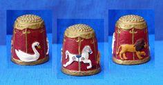 Pewter Carousel Thimble   eBay Sep 24, 2013 / GBP 14.00