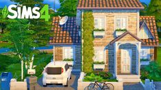 The Sims 4 Pc, Sims 4 House Design, Sims House Plans, Casas The Sims 4, Sims Ideas, Sims 4 Build, Sims 4 Mods, Floor Plans, How To Plan