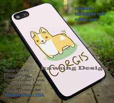 Corgis Peth, Dog, Cartoon Corgis, Cute Dog, Calvin and Hobbes, Cartoon, case/cover for iPhone 4/4s/5/5c/6/6 /6s/6s  Samsung Galaxy S4/S5/S6/Edge/Edge  NOTE 3/4/5 #cartoon #anime #calvinandhobbes ii