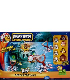 "Angry Birds Star Wars Jenga Death Star Game - Hasbro - Toys ""R"" Us.  Brayden would like to get this as a gift"