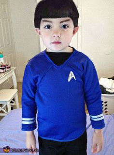 Toddler Spock - 2013 Halloween Costume Contest (Love, Love, Love, Love, Love! It looks just like a little Spock)