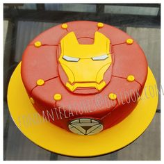 Discover recipes, home ideas, style inspiration and other ideas to try. Avengers Birthday Cakes, Hulk Birthday, Birthday Cakes For Men, Pastel Iron Man, Iron Man Party, Ironman Cake, Iron Man Logo, Marvel Cake, Mini Cake Pans