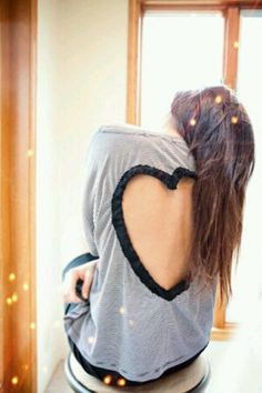 Backless heart.