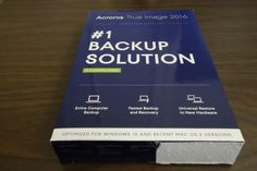 Acronis True Image 2016 - 3 Computers - PC / MAC - http://electronics.goshoppins.com/software/acronis-true-image-2016-3-computers-pc-mac/