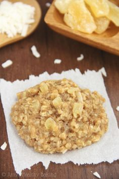 These sweet and tangy pineapple cookies get extra texture from oats. Get the recipe from Amy's Healthy Baking.