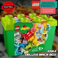 LEGO 10914 Deluxe Brick Box DUPLO Mainan Edukasi Anak Original #thekingbricks #theking #thekingid #kingbricks #gvonline #uhappyihappy #tokolegoterpercaya #tokomainanoriginal #lego10914 Lego Duplo Sets, Lego City, Lego Star Wars, Box, Snare Drum