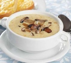 Slow Cooker Mushroom Soup Recipe