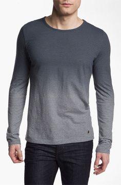 BOSS Orange 'Tweeds' Long Sleeve T-Shirt