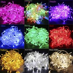 xtf2015 10M/20M Led String Light Waterproof Holiday Christmas Wedding Garden Party Decoration String Light