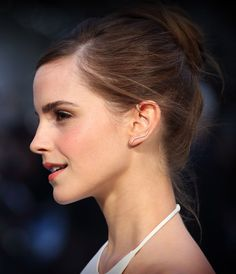 Emma Waston loves her ear cuffs (we do too!). From the Noah red carpet in London