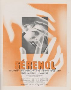 1930s French Medical Ad