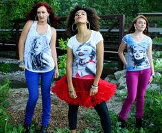 Marilyn Monroe Tees with crystal accents - Love