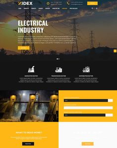 Zidex - Industrial & Factory WordPress Theme - ModelTheme Electric House, Chemical Industry, Automobile Industry, Shopping Center, South Dakota, Lorem Ipsum, Content Marketing, Wordpress Theme, How To Find Out