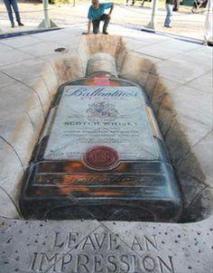 amazing street chalk art