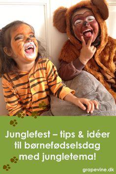Velkommen til junglefest! Så let arrangerer du selv en sjov børnefødselsdag med jungletema!   #jungle #jungletema #junglefest #fødselsdagsfest #børnefødselsdag #junglefødselsdag