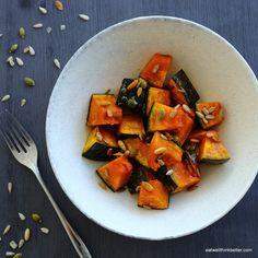 かぼちゃのオーブン焼き Roasted pumpkin