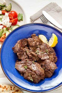 Chicken Liver Recipe - Fried Chicken Livers with Cumin, Coriander and Cinnamon | MongolianKitchen.com