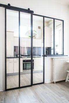 Condo Interior Design, Dream House Interior, Modern Villa Design, Modern Kitchen Design, Small Home Gyms, Garage To Living Space, White Farmhouse Kitchens, Kitchen Cupboard Designs, Diy Home Decor Easy