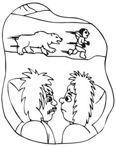 Inuit People Chased By Polar Bear Coloring Page : Coloring Sky Polar Bear Coloring Page, Bear Coloring Pages, Online Coloring Pages, Coloring Pages For Girls, Coloring Sheets, Inuit People, Animated Emoticons, More Images, Animation