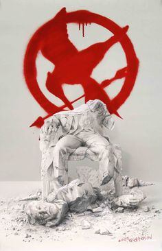 "Film: Hunger Games: Mockingjay Part 2 (2015) Year poster printed: 2015 Country: USA Size: 27""x 40"" ""The fire will burn forever"" This is a vintage one-sheet advance movie poster from 2015 for The Hunge"
