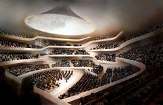 Hamburgo, na Alemanha, ganha uma das mais belas salas de concerto da Europa