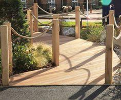 Landscape design, Ingress Park sales & marketing suite Riverside Walk, River Thames, Street Furniture, Sales And Marketing, Garden Bridge, Landscape Design, Acre, Pergola, New Homes