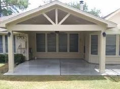 Image result for building a covered porch on back of house
