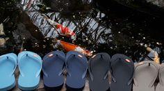 We at Olli make Fair Trade natural rubber flip flops. Member of Fair Rubber. Rubber Flip Flops, Love Natural, Flip Flop Shoes, Natural Rubber, Fair Trade, Koi, Eco Friendly, Fish, Nature