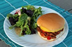 Hawaiian Sloppy Joes - with bacon, pineapple, red pepper, and more....might as well feel like you're in Hawaii!  #sloppyjoes