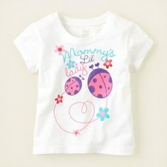 Children's Place .  Mommy's Lil Lady .  Size: 9-12mos. To order: http://www.shopaholic.com.ph/#!/Childrens-Place-Mommys-Lil-Lady/p/29511611