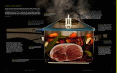 Pressure Cooker Cutaway [Photo Credit:Tyson Stole/ Modernist Cuisine, LLC]